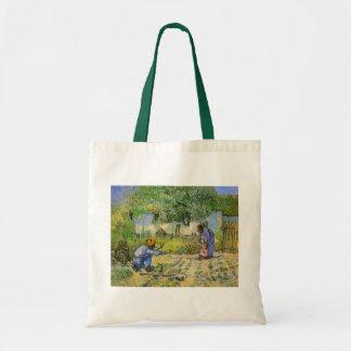 Van Gogh, primeros pasos, arte del impresionismo Bolsa Tela Barata