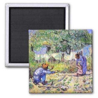 Van Gogh - primeros pasos Imán Cuadrado