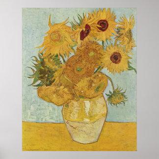 Van Gogh Prints: Van Gogh Sunflowers Poster