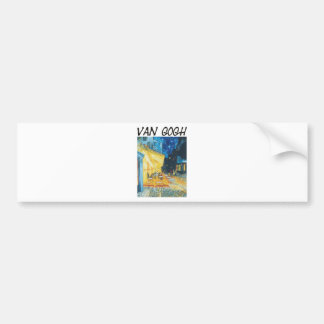 Van Gogh Products & Designs! Bumper Sticker
