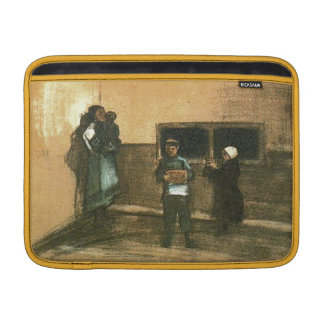 Van Gogh Public Soup Kitchen Fine Art MacBook Air Sleeves