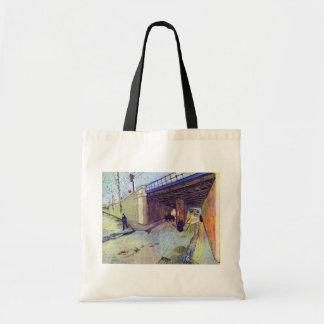 Van Gogh - puente ferroviario sobre la avenida Bolsa Tela Barata