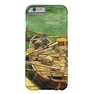 Van Gogh Quay with Men Unloading Sand Barges Barely There iPhone 6 Case
