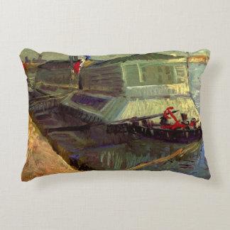 Van Gogh que baña el flotador en el Sena en
