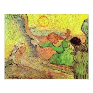 Van Gogh; Raising of Lazarus, Vintage Religion Card
