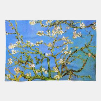 Van Gogh: Ramas de árbol florecientes de almendra Toalla