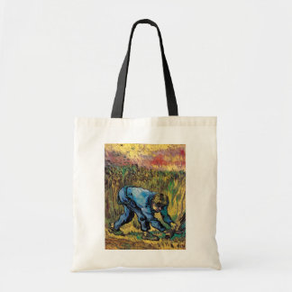 Van Gogh - Reaper With Sickle (After Millet) Canvas Bags