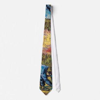 Van Gogh - Reaper With Sickle (After Millet) Tie