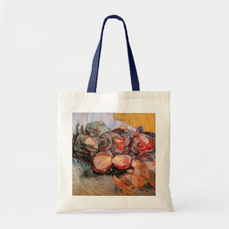Van Gogh Red Cabbages Onions, Vintage Still Life Tote Bag
