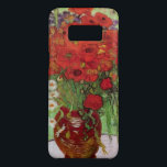 "Van Gogh Red Poppies and Daisies, Fine Art Flowers Case-Mate Samsung Galaxy S8 Case<br><div class=""desc"">Still Life: Red Poppies and Daisies by Vincent van Gogh is a vintage fine art post impressionism still life floral painting. A beautiful bouquet of red poppy flowers and white daisy flowers fresh from the garden in a decorative vase. About the artist: Vincent Willem van Gogh (1853 -1890) was one...</div>"