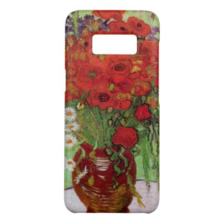 Van Gogh Red Poppies and Daisies, Fine Art Flowers Case-Mate Samsung Galaxy S8 Case