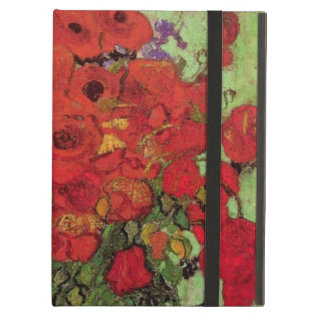 Van Gogh Red Poppies And Daisies, Fine Art Flowers Ipad Air Case at Zazzle