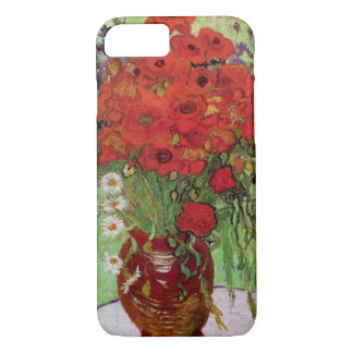Van Gogh Red Poppies and Daisies, Fine Art Flowers iPhone 8/7 Case