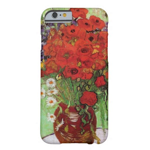 Van Gogh Red Poppies and Daisies iPhone 6 case