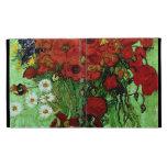 Van Gogh Red Poppies & Daisies (F280) Fine Art iPad Folio Cases