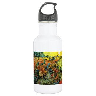 Van Gogh Red Vineyards at Arles Water Bottle