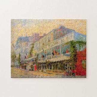 van Gogh - Restaurant de la Sirene at Asnieres Jigsaw Puzzle