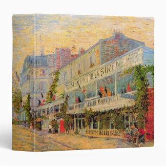 "Van Gogh Restaurant de la Sirene en Asnieres Carpeta 1 1/2"""