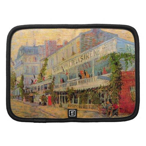 Van Gogh; Restaurant de la Sirene en Asnieres Planificador