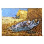 Van Gogh: Resto del mediodía del trabajo Mantel