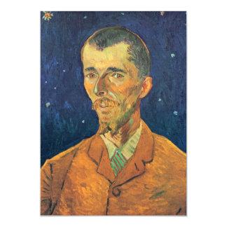 """Van Gogh; Retrato de Eugene Boch, arte del vintage Invitación 5"""" X 7"""""""