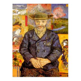 ¿Van Gogh - retrato de P? re Tanguy (padre Tanguy) Postales