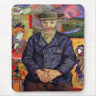 Van Gogh - retrato de Pere Tanguy Alfombrilla De Raton