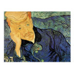 Van Gogh; Retrato del doctor Gachet, arte del Postal