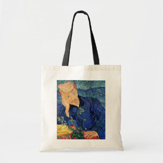 Van Gogh - retrato del doctor Gachet Bolsa Tela Barata