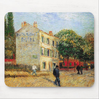 Van Gogh Rispal Restaurant at Asnieres Mouse Pad