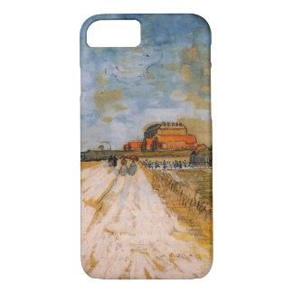 Van Gogh Road Running Beside the Paris Ramparts iPhone 7 Case