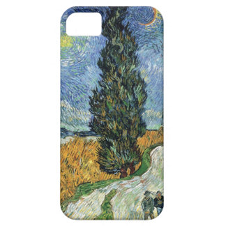 Van Gogh Road With Cypresses iPhone Case