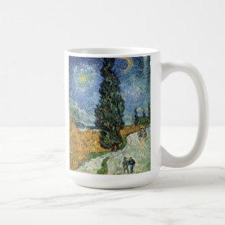 Van Gogh Road With Cypresses Mug