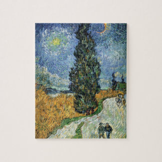 Van Gogh Road With Cypresses Puzzle