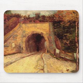 Van Gogh Roadway Underpass, the Viaduct, Fine Art Mouse Pad