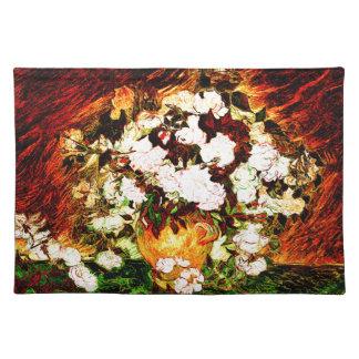 Van Gogh - rosas Mantel