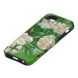 Van Gogh; Rosas rosados, todavía del vintage arte  iPhone 5 Case-Mate Protectores