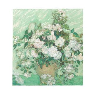 Van Gogh- Roses Blocs De Notas