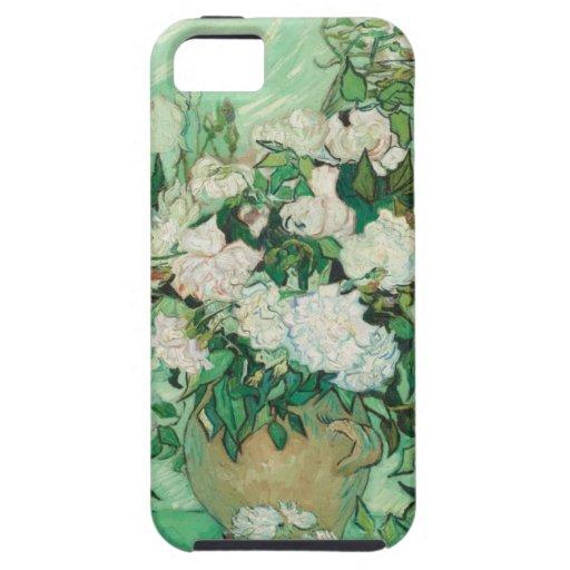 Van Gogh- Roses iPhone 5 Funda