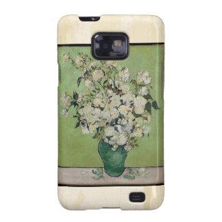 Van Gogh Roses Vintage Fine Art Galaxy SII Covers