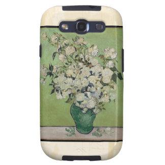 Van Gogh Roses Vintage Fine Art Galaxy SIII Covers