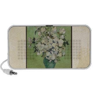 Van Gogh Roses Vintage Fine Art iPhone Speakers