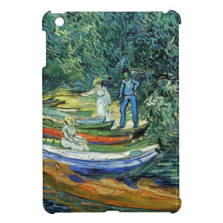 Van Gogh Rowing Boats on the Banks of the Oise iPad Mini Cover