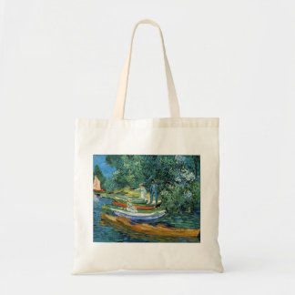 Van Gogh Rowing Boats on the Banks of the Oise Tote Bag