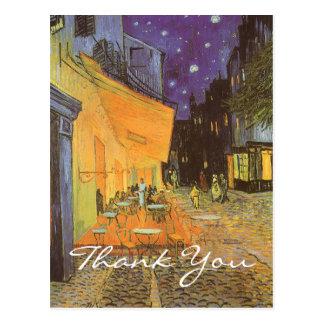 Van Gogh s Cafe Terrace at Night Postcard