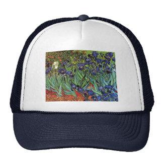 Van Gogh s Irises Trucker Hat