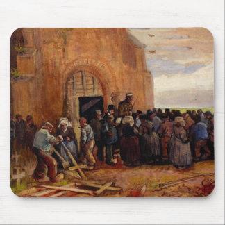 Van Gogh, Sale of Building Scrap, Vintage Fine Art Mouse Pad