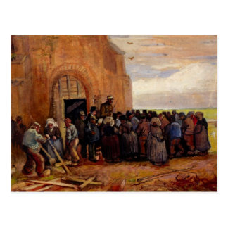Van Gogh, Sale of Building Scrap, Vintage Fine Art Postcard