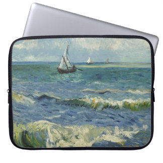 Van Gogh Seascape at Saintes-Maries F415 Computer Sleeves