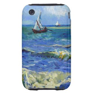 Van Gogh Seascape iPhone 3 Tough Case